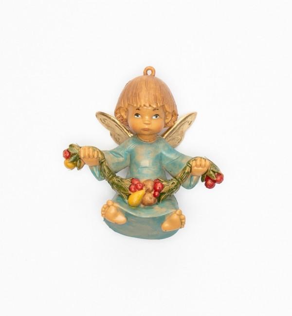 Engel mit Früchten (382) Höhe 9 cm