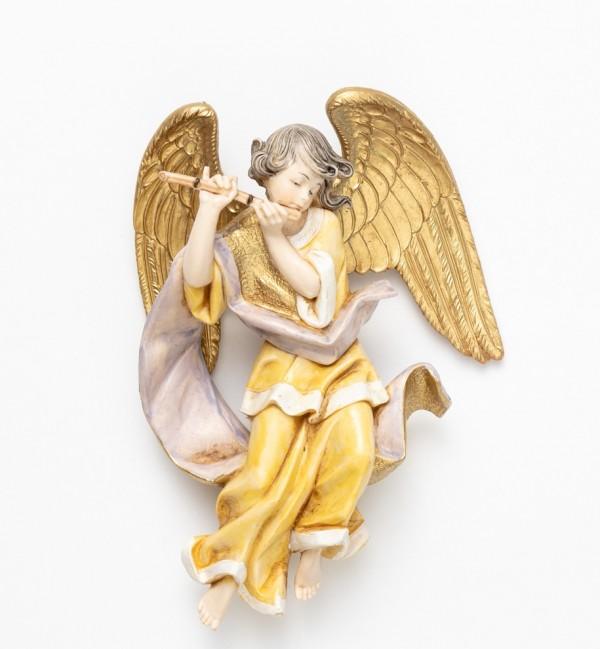 Engel mit Flöte (467) Porzellanimitation Höhe 17 cm
