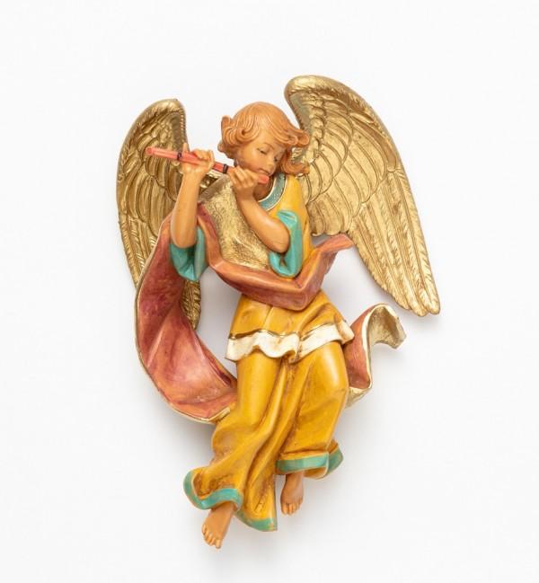 Engel mit Flöte (467) Höhe 17 cm