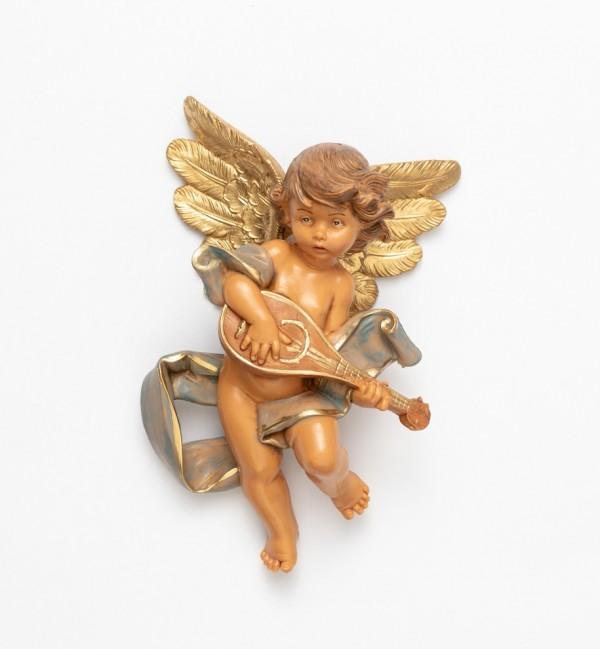 Engel mit Mandoline (567) Höhe 17 cm