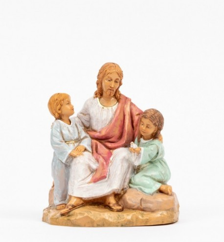Jesus mit Kindern (592) Höhe 12 cm