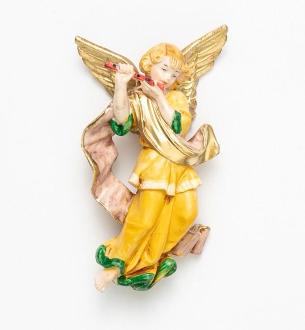 Engel mit Flöte (667) Porzellanimitation Höhe 11 cm