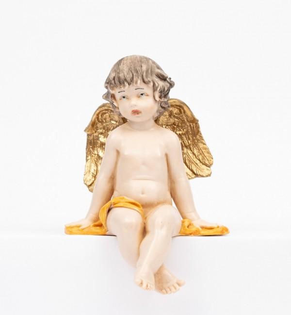 Sitzender Engel (978) Porzellanimitation Höhe 12 cm