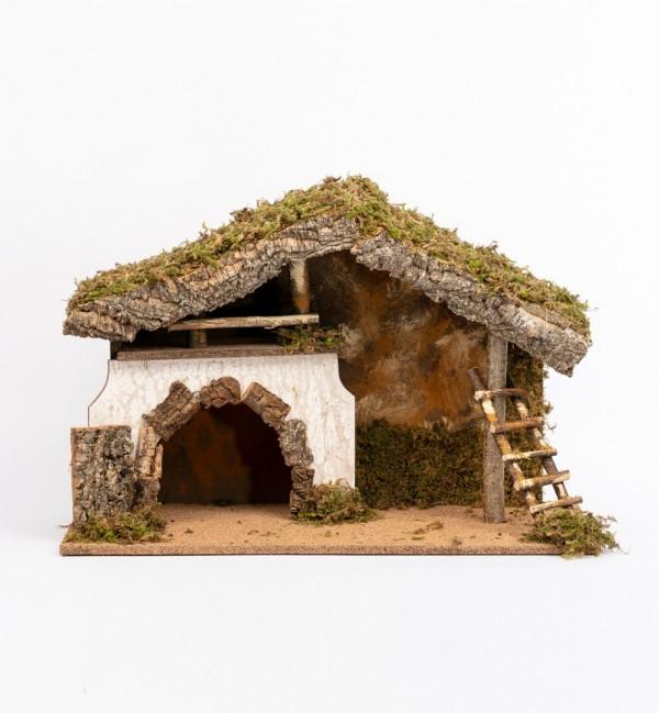 Hütte Nr. 652 Höhe 17 cm und 19 cm